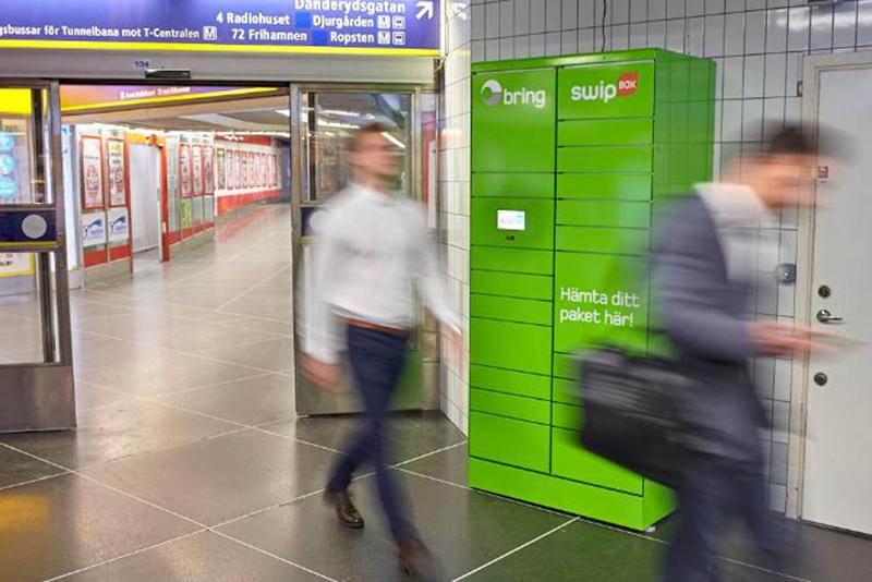 Bring erbjuder utlämning via kollektivtrafiken