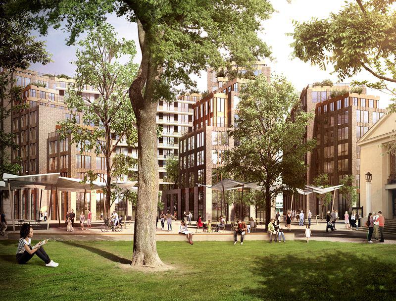 Nytt hållbart kvarter i centrala Göteborg