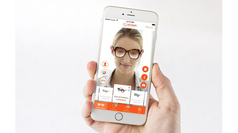 Synsam låter kunden prova virtuellt
