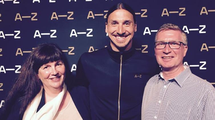 De har koll på Zlatans service