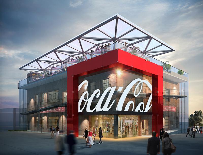 Hantverk och historia i Coca-colas flaggskepp