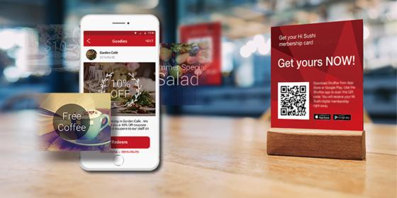 Digital kundklubb direkt i mobilen