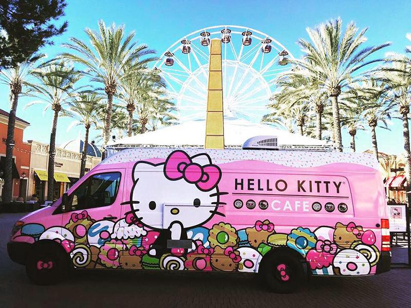 Fika hos Hello Kitty