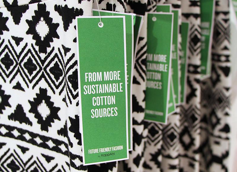 38 procent hållbarhetsmärkt mode