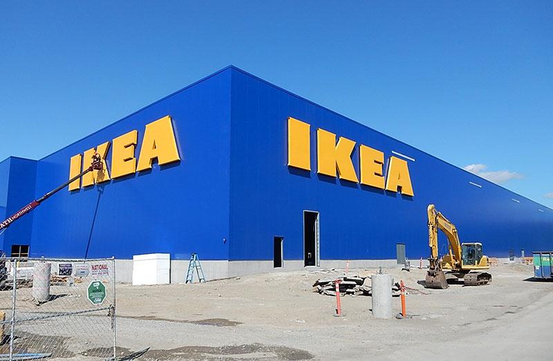Här installerar Ikea rekordstor solanläggning