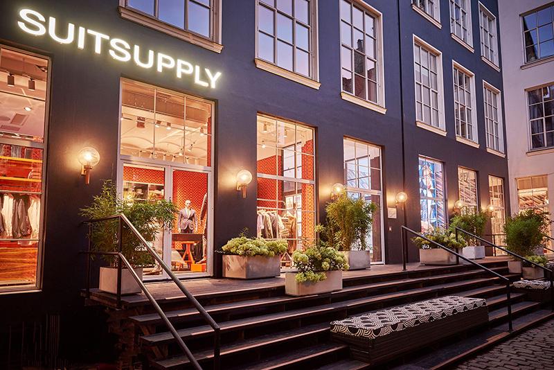 Suitsupply öppnar i Skandinavien