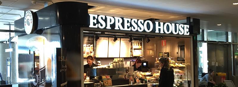 Espresso House öppnar på Arlanda