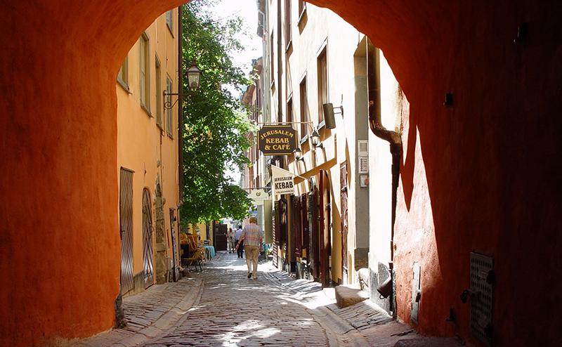 Premiär för gatumarknad i gamla stan