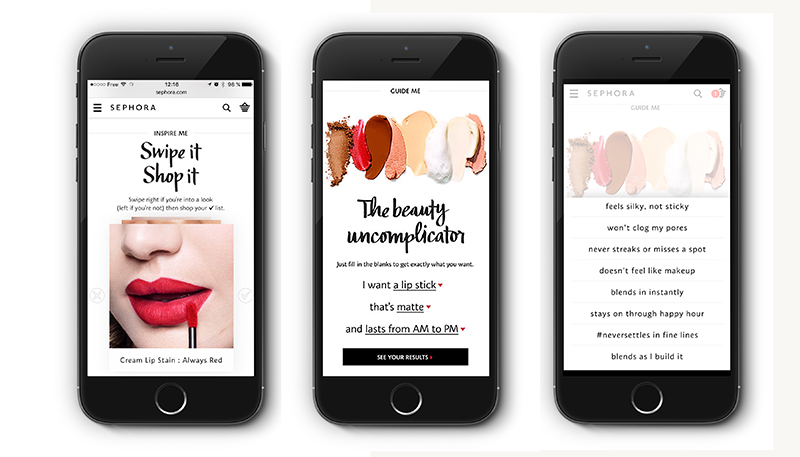 Sephora: Swipe it, shop it!