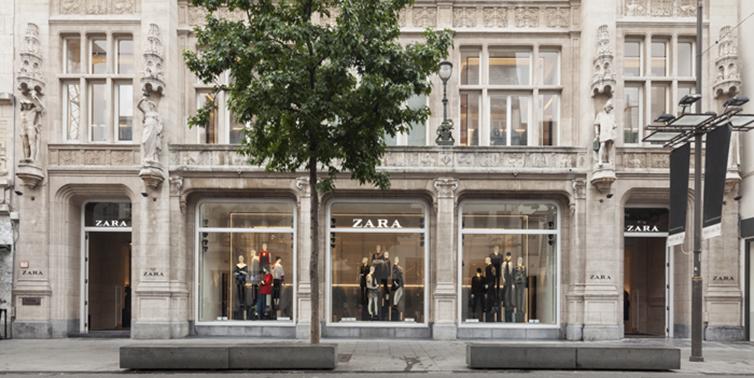 Zara nyöppnar flaggskepp