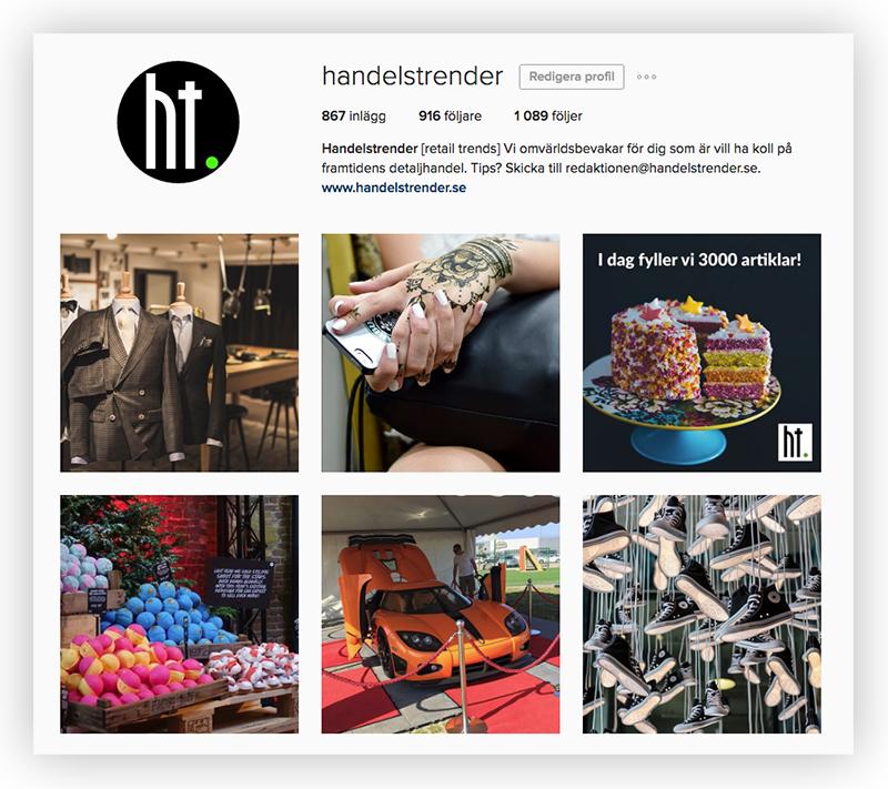 Häng med oss på Instagram!