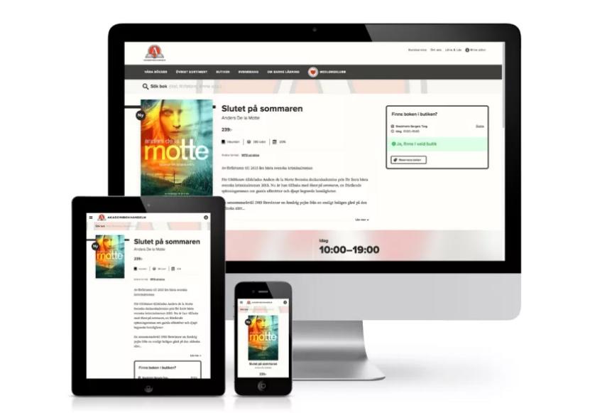 Akademibokhandeln lanserar ny digital tjänst