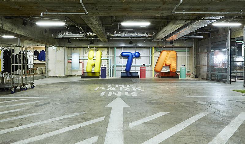 Garaget som konceptbutik