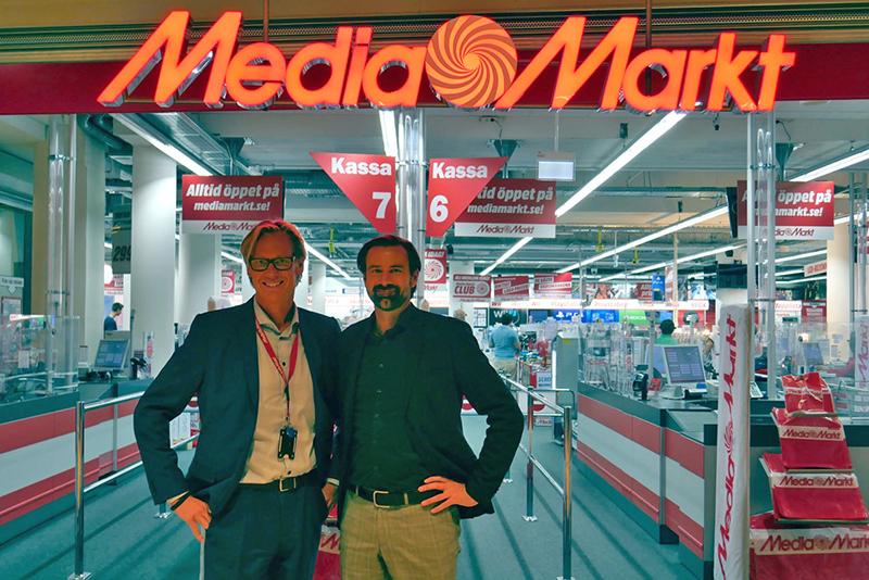 Media Markt utökar samarbete med Urb-it