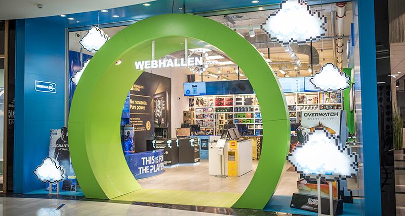Webhallen öppnar ny butik i Femman