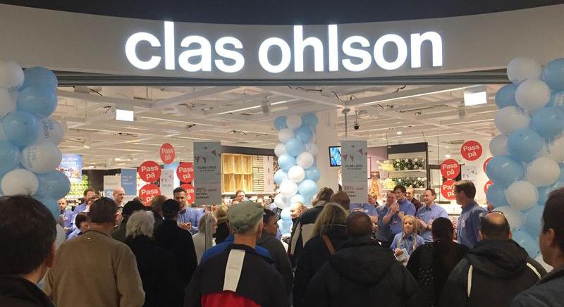 Clas Ohlson öppnade ny butik i Oslo