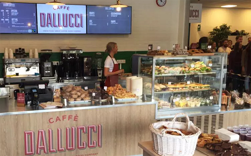 Caffè Dallucci öppnar i Sverige
