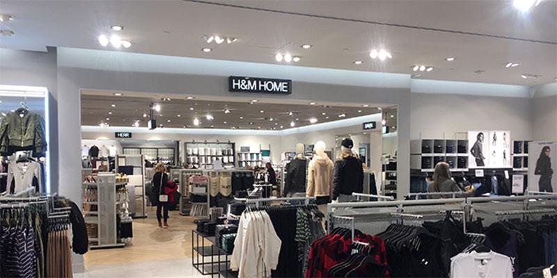 H&M växer med Home i Entré