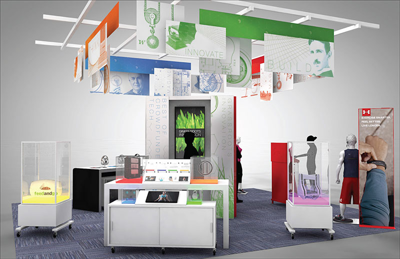 Elektronikkedja lyfter fram startups i butik