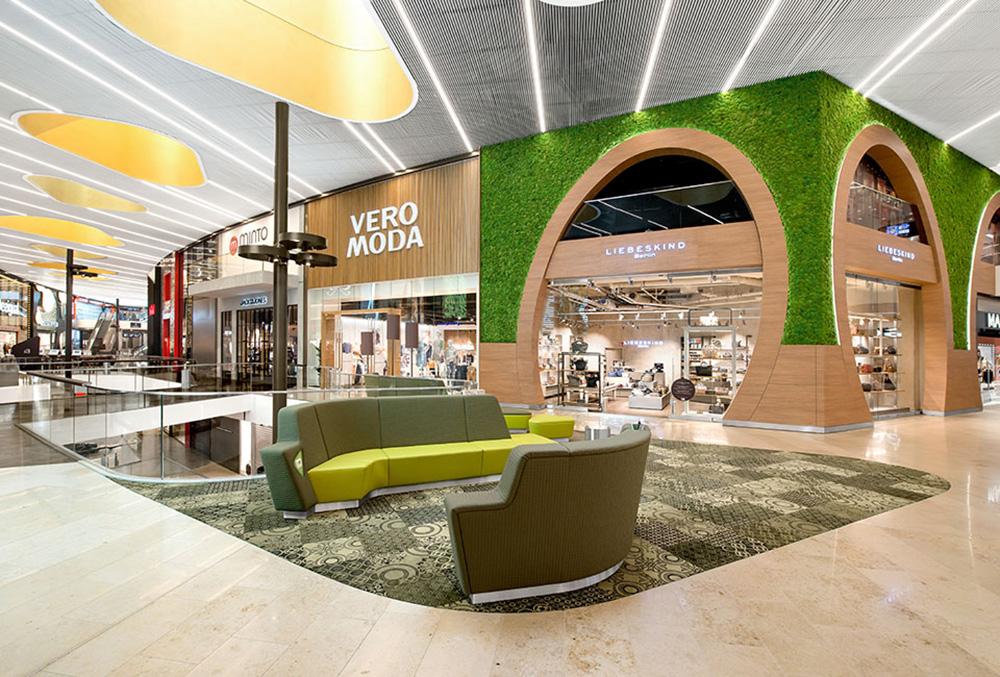 Kika in i Tysklands finaste köpcentrum
