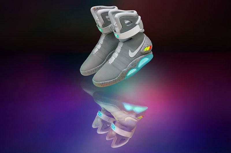 Nu lanseras Marty McFlys framtidssneaker
