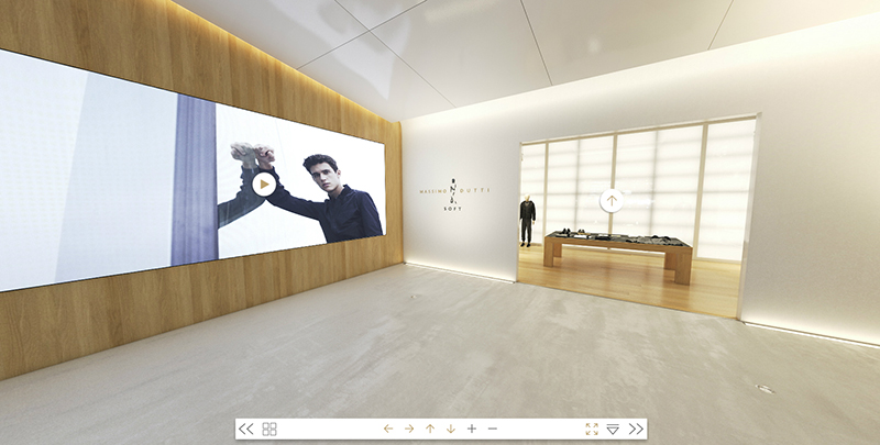 Massimo Dutti öppnar VR-butik