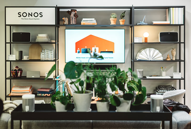 Premiär för Sonos och Hays shop in shop