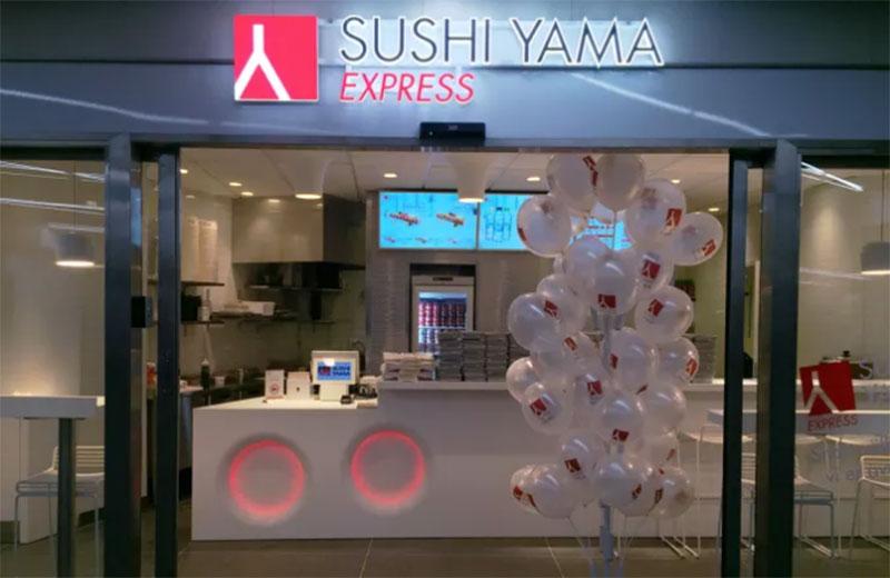 Sushi Yama öppnar ny expressenhet