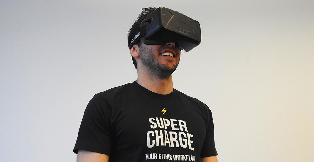 VR-betalningen förenklas till en huvudrörelse