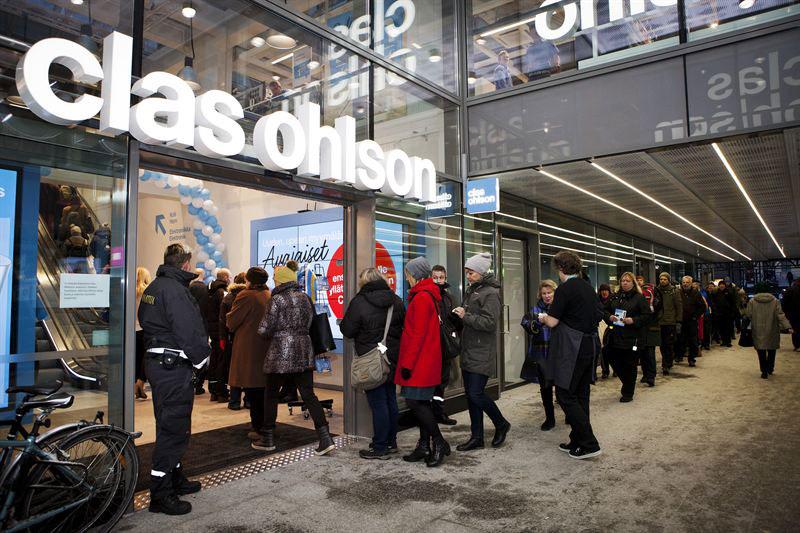 Clas Ohlson öppnade ny butik i Helsingfors