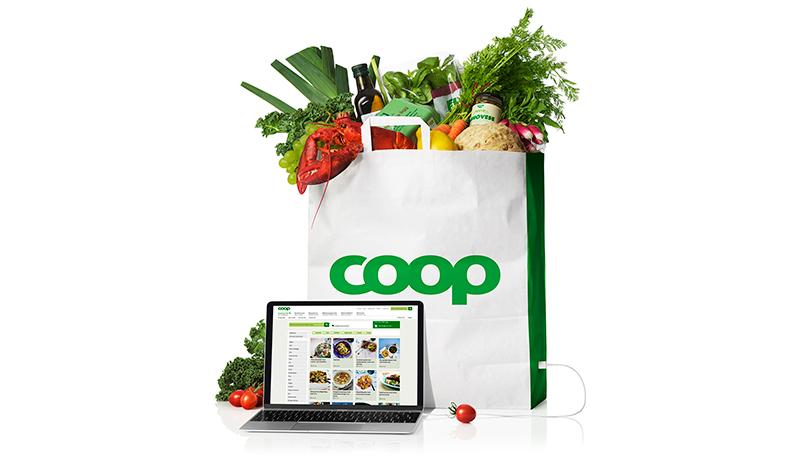Rekordtillväxt för Coops näthandel