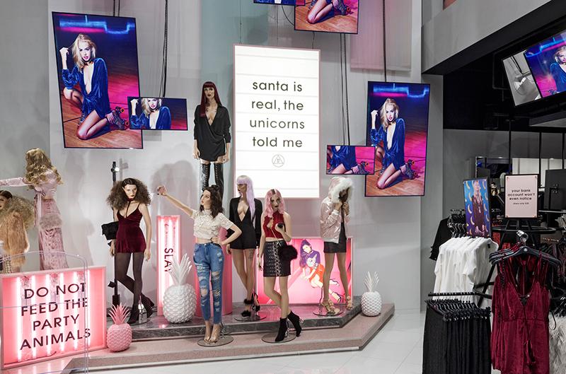 Missguided öppnar fler fysiska butiker