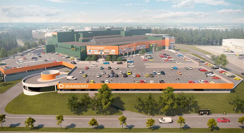 Orangeriet  – ny handelsplats i Kungens kurva