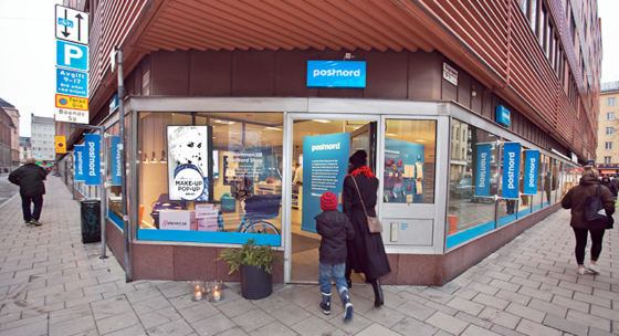 Här är Postnords nya fygitala butik