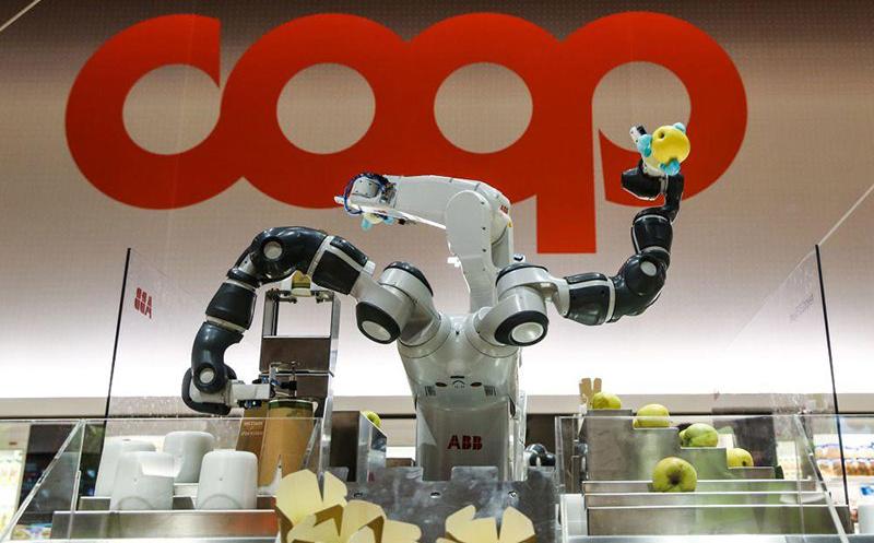 Coop har öppnat framtidens dagligvarubutik