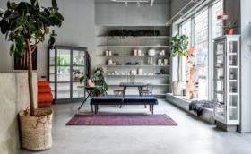 Butik vill bli hubb för design