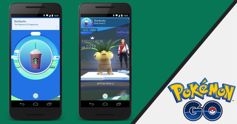 Starbucks samarbetar med Pokémon Go