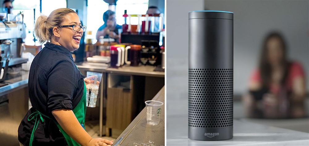 Alexa gör entré hos Starbucks