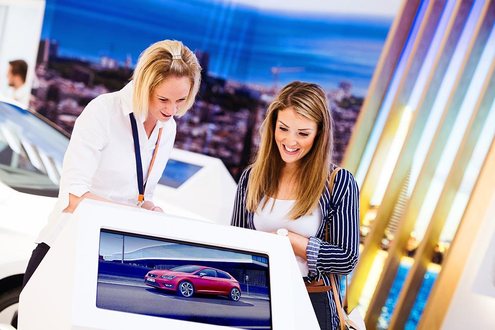 Bilmärke lanserar nytt koncept för köpcentrum