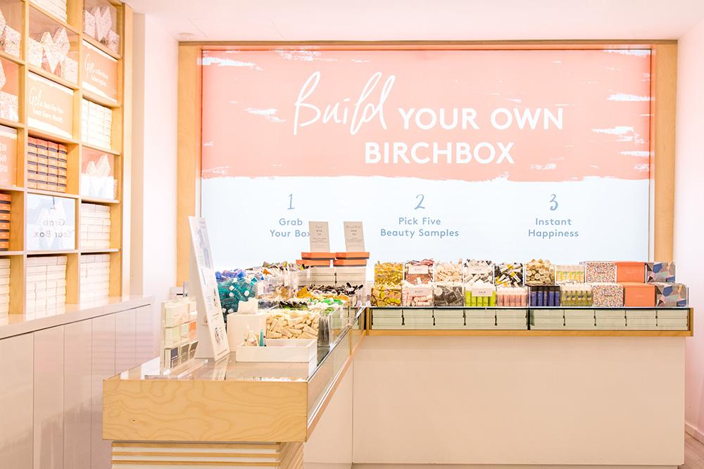 Birchbox öppnar första butiken i Europa