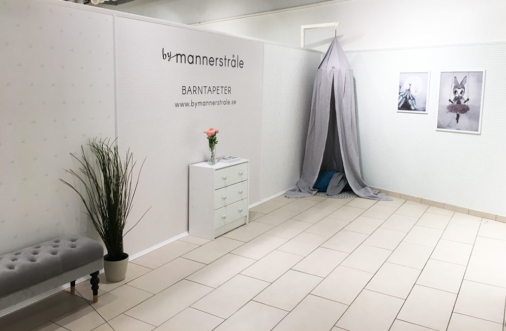 By Mannerstråle har öppnat showroom
