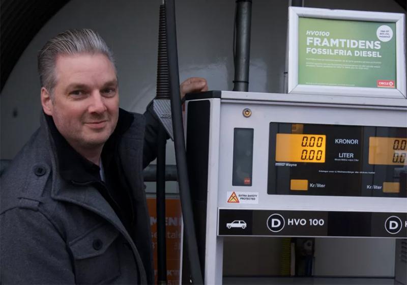 City Gross satsar på fossilfritt bränsle