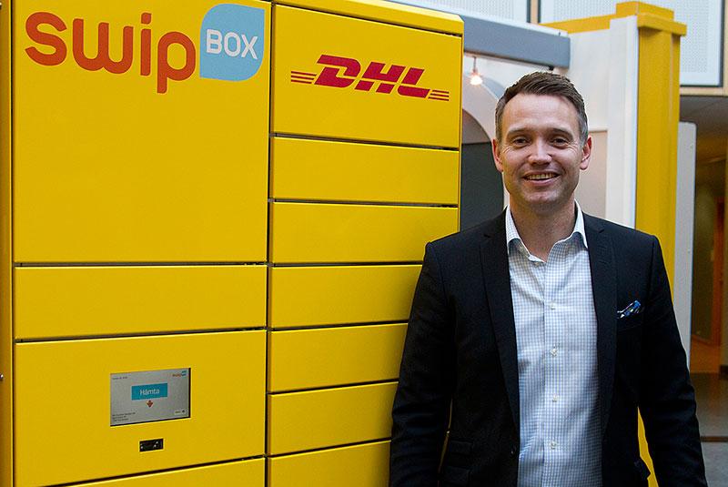 Paketautomater succé för DHL