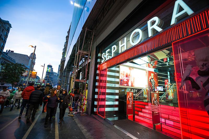 Sephora hittar nya produkter med startup