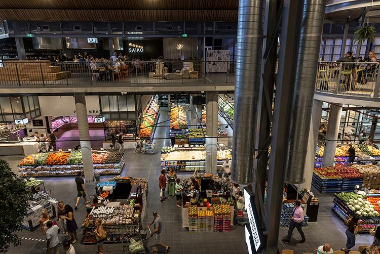 Här är den nya tidens matmarknad