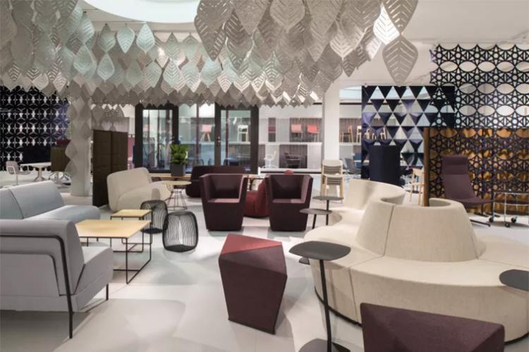 Lammhults och Abstracta öppnar nytt showroom