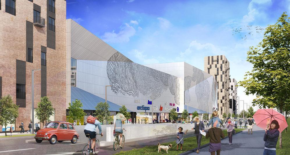 """""""Benchmark för det urbana köpcentrumet"""""""