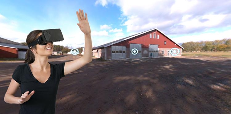 Skånemejerier tar kunden till virtuell mjölkgård