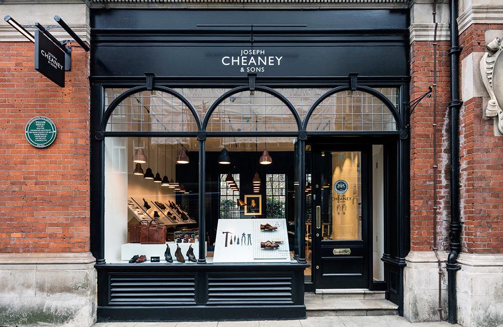 Cheaney hyllar hantverket i Covent Garden