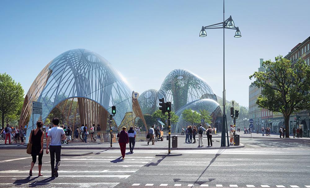 Inomhuspark nytt inslag i stadskärnan
